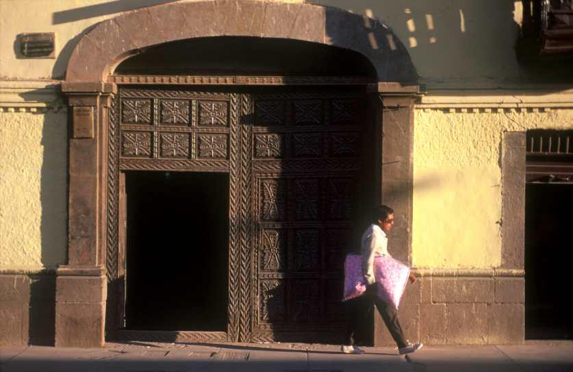 Peru, Cusco, puerta
