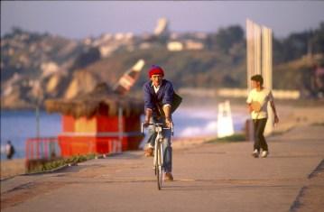 Chile, Viña del Mar, muelle, bicicleta