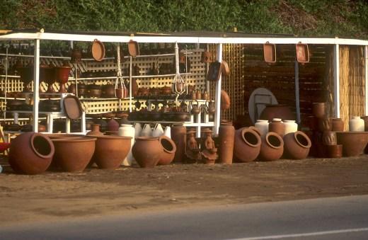 Chile, Reñaca, artesanía local