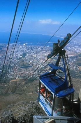 Sudáfrica, El Cabo, Capetown, funicular, Montaña de la Tabla