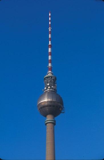 Alemania, Berlin, torre tv antigua RDA