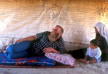 Israel, desierto del Negev, familia beduina, Sr Ofer