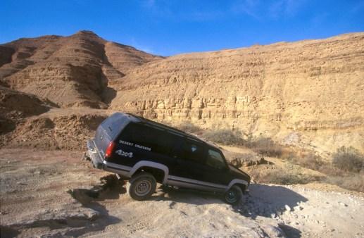 Israel, desierto del Negev, transporte