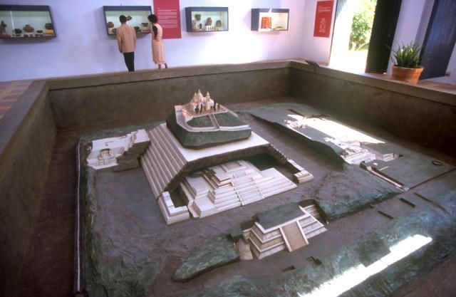 México, Estado Puebla, Cholula, Museo de la Pirámide
