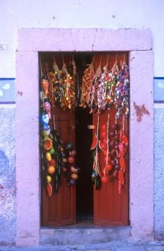México, San Miguel de Allende, portal, puerta