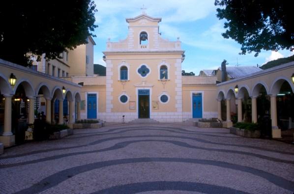 Macao, Isla Coloane Iglesia St Francis Xavier