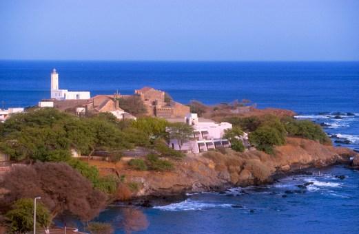 Cabo Verde, isla Santiago, Praia, faro