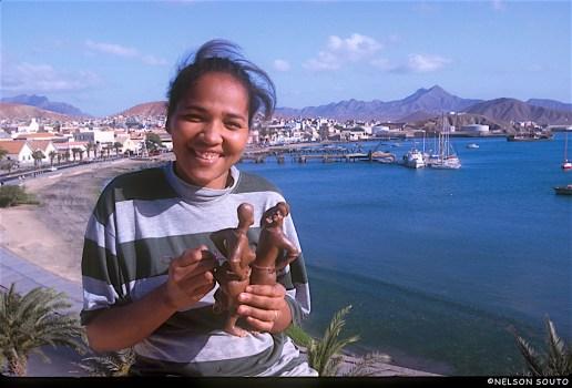 Cabo Verde, Isla San Vicente, Mindelo, Taller de Cerámica, retrato