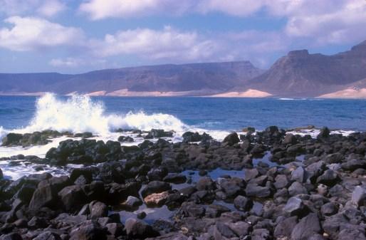 Cabo Verde, Isla Sao Vicente, Baía das Gatas