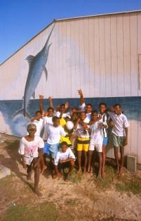 Cabo Verde, Isla de Sal, Santa Maria, Un gran recibimiento
