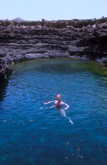 Cabo Verde, Isla de Sal, Buracona, islas volcánicas, piscinas naturales