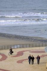 Flandes, Wenduine, playas del Mar del Norte