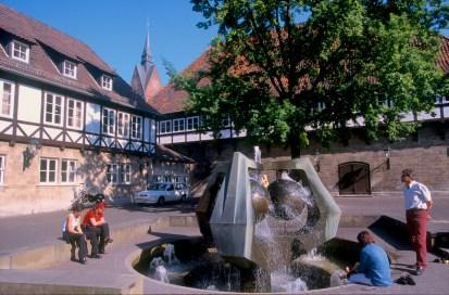 Alemania, Baja Sajonia, Hannover, plaza Ballhof