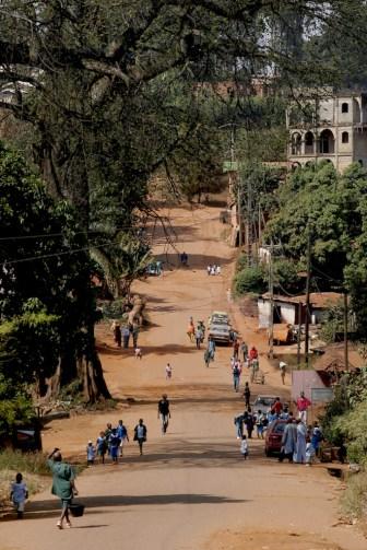 Camerún, Foumban, calle de Artesanos