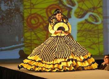 D´Urgell, Mollerusa, Concurzo de Vestidos de Papel