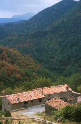 El Ripollès, Rocabruna, Alta Garrotxa
