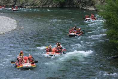 Pallars Sobira, Rafting, Río Noguera Pallaresa