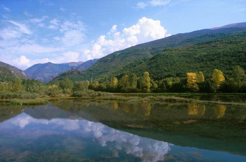 Catalunya, Alta Ribagorça, Vall de Boì, Reserva de pesca