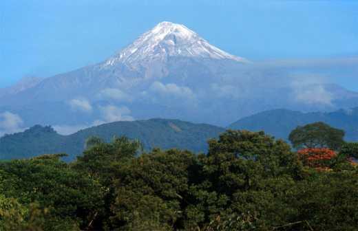 México, Puebla, Volcán Popocatépetl