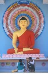 Sri Lanka, Ella, Buda sentado