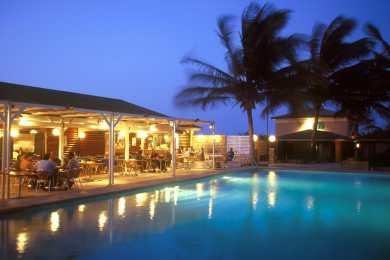 Cabo Verde, Isla de Sal,hotel Belorizonte, nocturno