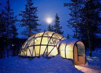 Laponia,Iglú de Cristal, Saariselkä, Hotel Kakslauttanen, Saariselka