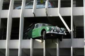 Burdeos, Parking Victor Hugo, Escultura