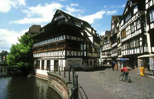 Alsacia, Strasbourg, Pequeña Francia