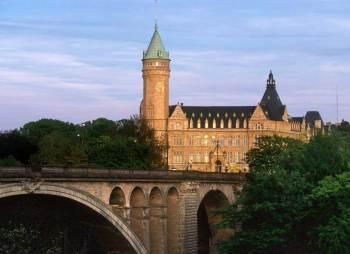 Luxemburgo Jardines puente