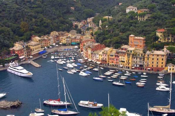 Liguria, Génova, Portofino, Golfo de Tigullo