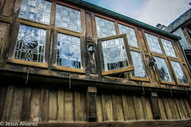 ventanales medievales