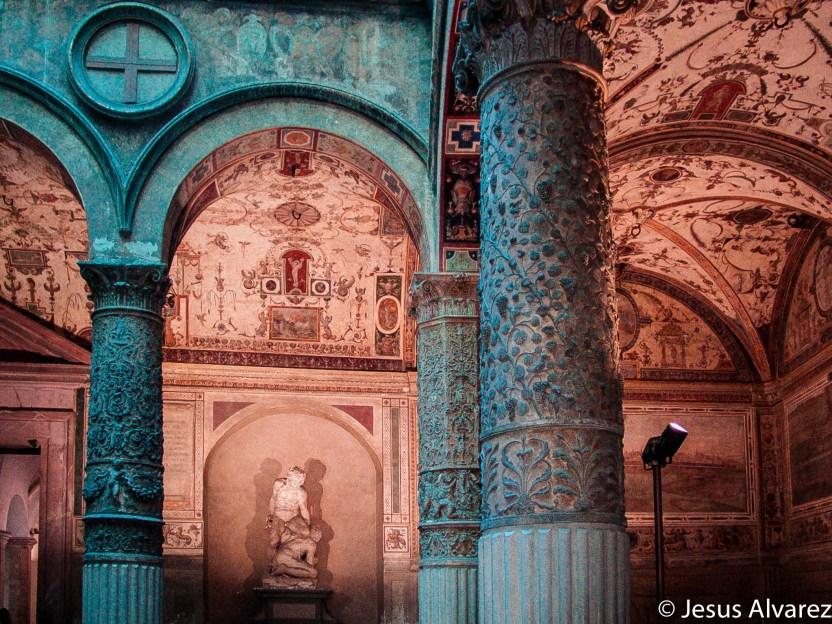 Interior del Ayuntamiento de Florencia