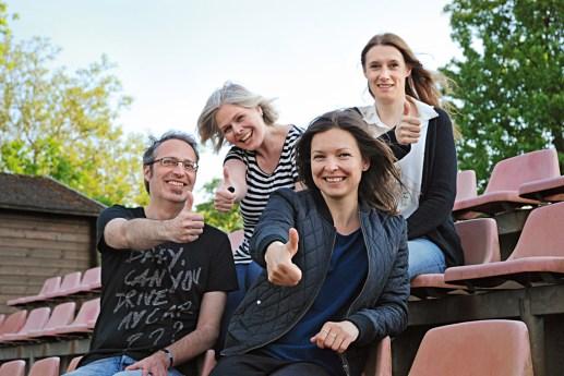 Ulrich Graf-Nottrodt, Kerstin Graf, Annica Müllenberg, Steffi Urban (v.l.) / Foto: Kerstin Graf