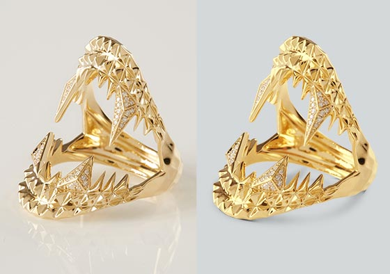 Jewelry Product image edit