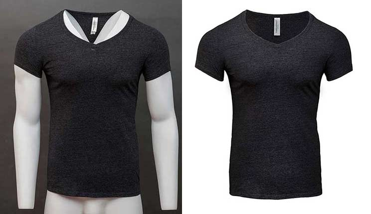 Photoshop mannequin and apparel image retouch