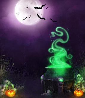 Fondos para Fotomontajes de Halloween