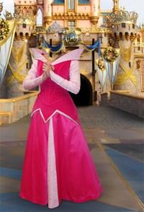 Fotomontaje Princesa Disney