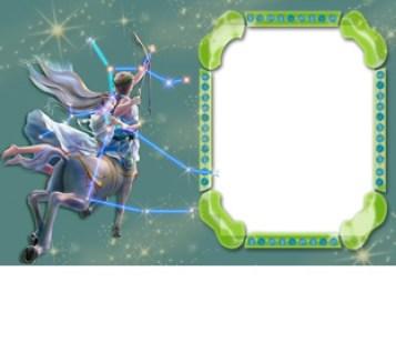 Marcos transparentes con los Signos del Zodiaco
