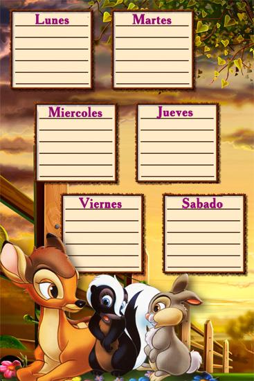 agenda-infantil-2013-bambi-destacada