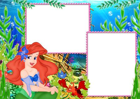 Marcos Princesa Disney Ariel.