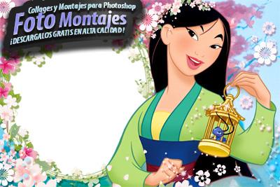 Marcos Disney Mulán