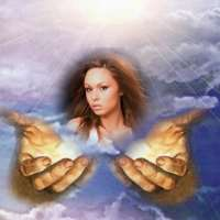 Fotomontajes cristianos: En las manos de Dios