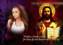 Fotomontaje de Pascuas con Jesús