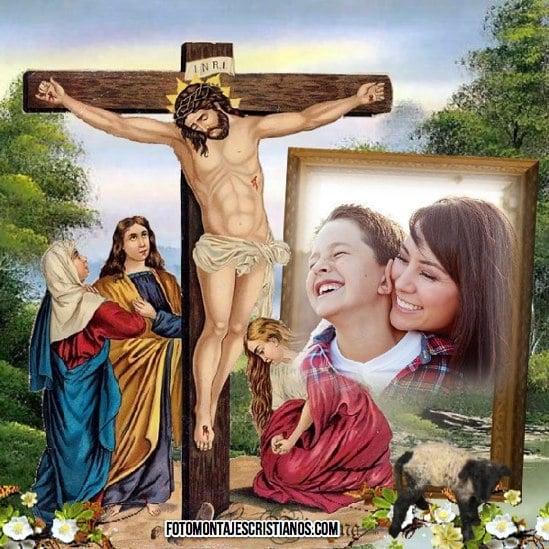 fotomontajes cristianos con jesus