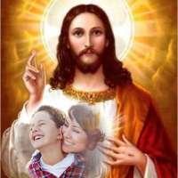 Fotomontaje con la imagen del Sargado Corazón de Jesús