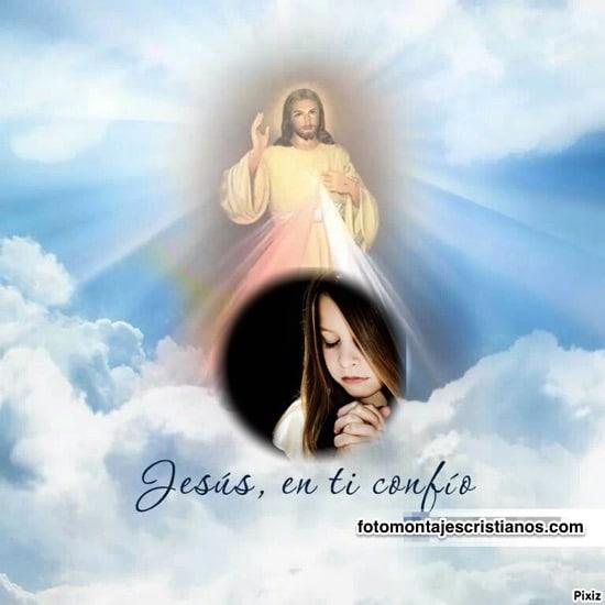 fotomontajes jesus en ti confio