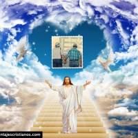 Fotomontajes cristianos para personas fallecidas