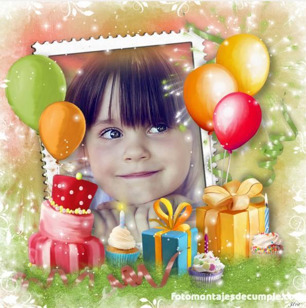 Fotomontajes de cumpleaños