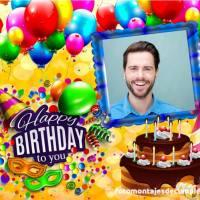 10 fotomontajes de feliz cumpleaños para hombres