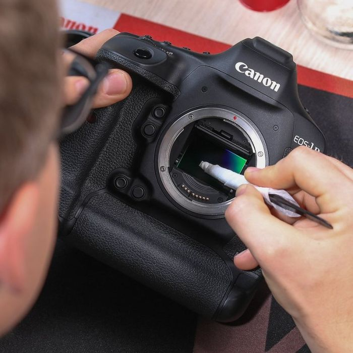 Kamera und Sensor Reinigung